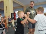 Spousta malých bojovníků se poprvé utkala v příbramské Boxerně (4)