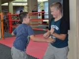 Spousta malých bojovníků se poprvé utkala v příbramské Boxerně (1)