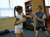 Spousta malých bojovníků se poprvé utkala v příbramské Boxerně ()