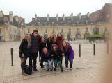 Studentky příbramského gymnázia prožily rok v Dijonu ()