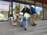 Oblečení, které jste věnovali dětským pacientům, bylo předáno Nemocnici Hořovice. (7)