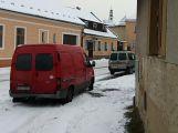 V Rožmitále se srazily dva vozy, odnesly to jen plechy (1)