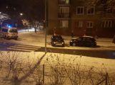Policisté prošetřují nehodu v ulici Edvarda Beneše ()