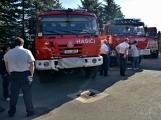 V Zalužanech uvítali hasiči novou Scanii (46)