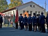 V Zalužanech uvítali hasiči novou Scanii (45)