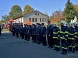 V Zalužanech uvítali hasiči novou Scanii (44)