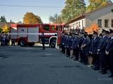 V Zalužanech uvítali hasiči novou Scanii (37)