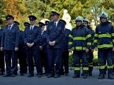 V Zalužanech uvítali hasiči novou Scanii (34)