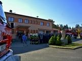 V Zalužanech uvítali hasiči novou Scanii (48)