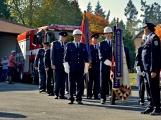 V Zalužanech uvítali hasiči novou Scanii (49)