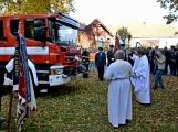 V Zalužanech uvítali hasiči novou Scanii (57)