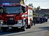 V Zalužanech uvítali hasiči novou Scanii (52)