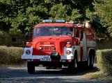 V Zalužanech uvítali hasiči novou Scanii (11)