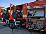V Zalužanech uvítali hasiči novou Scanii (4)