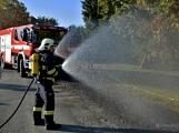V Zalužanech uvítali hasiči novou Scanii (22)