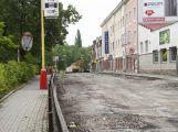 Rekonstrukce příbramských silnic byla slavnostně zahájena, práce potrvají do listopadu ()