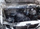 Aktuálně: Na Strakonické začala hořet dodávka, zasahují hasiči. Doprava je ochromena, vytváří se kolony (6)