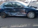 Hned za vjezdem na dálnici D4 došlo k hromadné nehodě (4)