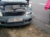 Hned za vjezdem na dálnici D4 došlo k hromadné nehodě (3)