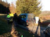 U Bratkovic se srazila dvě auta, nikdo nebyl zraněn ()