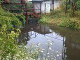 Příbramsko přes noc zasáhly vytrvalé deště, Litavka v Čenkově hlásí první stupeň (2)