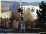 U Kauflandu probíhá aktivní výměna světelné signalizace (1)