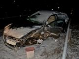 Dopravní nehoda dvou osobních vozidel na silnici č. 19 u Rožmitálu pod Třemšínem (2)