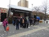 Páteční den patřil na náměstí převážně dětem ()
