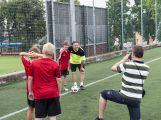 Na Spartaku trénují mladí fotbalisté, mají svůj letní kemp ()