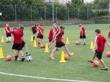 Na Spartaku trénují mladí fotbalisté, mají svůj letní kemp (8)