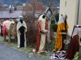 V Čenkově je k vidění ohromný betlém ze sena (6)