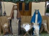 V Čenkově je k vidění ohromný betlém ze sena (5)