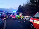 Aktuálně: Hromadná nehoda uzavřela dálnici D4! V místě přistává vrtulník (1)
