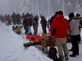 Zimní Brdy uvítaly účastníky pochodu pořádnou sněhovou nadílkou (92)