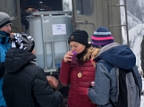 Zimní Brdy uvítaly účastníky pochodu pořádnou sněhovou nadílkou (14)