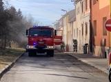 U Svaté Hory zasahují hasiči, ulice Na Leštině je nyní uzavřena ()