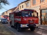 U Svaté Hory zasahují hasiči, ulice Na Leštině je nyní uzavřena (1)
