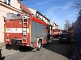 U Svaté Hory zasahují hasiči, ulice Na Leštině je nyní uzavřena (3)