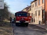 U Svaté Hory zasahují hasiči, ulice Na Leštině je nyní uzavřena (4)