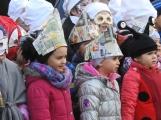 Děti z mateřinek roztančily náměstí (12)