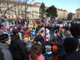 Děti z mateřinek roztančily náměstí (28)