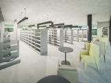 Takto by měla vypadat dobříšská knihovna se spolkovým domem ()