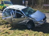 U Felbabky došlo k vážné nehodě, pro zraněného přilétl vrtulník (1)