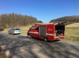U Felbabky došlo k vážné nehodě, pro zraněného přilétl vrtulník (4)