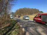 U Felbabky došlo k vážné nehodě, pro zraněného přilétl vrtulník (6)
