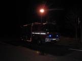 Série dopravních nehod nekončí ani po půlnoci, k další byl přivolán i záchranářský vrtulník (2)