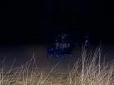 Série dopravních nehod nekončí ani po půlnoci, k další byl přivolán i záchranářský vrtulník (6)