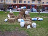 Žáci základních škol vyzdobili náměstí. Jak se vám to líbí? (4)