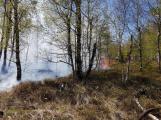 Příčina včerejšího požáru v CHKO: Odlétnutí segmentů po řízeném výbuchu (5)