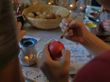Sluneční paprsky oživily ve Skanzenu tradiční velikonoční zvyky (15)